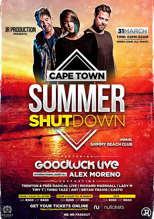 Cape Town Summer Shutdown – ClubzSA